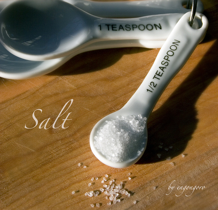 food photography by engongoro,  1/2 teaspoon of salt, 2008